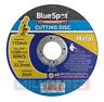 "BlueSpot 115mm 4.5"" Metal Cutting Discs Cut Off 3mm Thickness Angle Grinder"