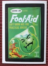 Wacky Packages Lost Wackys Fool Aid 1st Series 2005 version 2