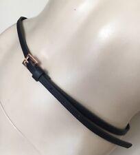 TED BAKER,Dark Blue Belt,Womens Belt, sise 3, UK 10/12, M