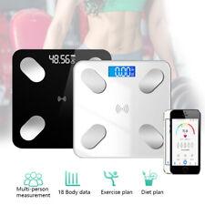 Bluetooth Body Wireless Scale Digital Weight Monitor Health Analyze App LOT V/C