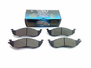 VGX MF576 Semi-Metallic Disc Brake Pad, Front