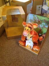 Disney Tigger Heirloom Soft Toy. With Certificate.