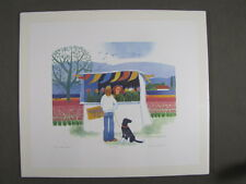 Rie Munoz Signed/Numbered Limited Edition Serigraph - Tulips $2 - 127/950 1990