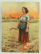 Song of the Lark #1255 Davis Original Vintage Original Lithograph Art Print