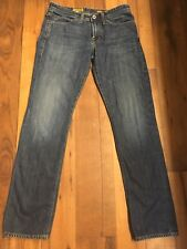 AG Adriano Goldschmied 30 x 32 The Protoge Straight Leg  Blue Jeans