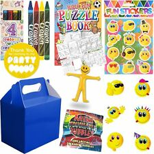 Boys Royal Blue Filled Party Bags Parcels Birthday Wedding favours Activity Bag