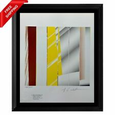 Roy Lichtenstein - Mirror in Six Panels #1, Original Hand Signed Print with COA
