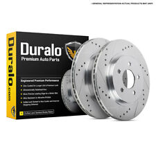 For Audi A6 Quattro S6 & VW Passat W8 Drilled Slotted Rear Brake Rotors