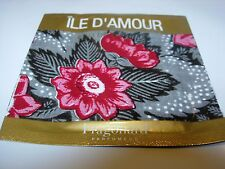 WOMENS FRAGONARD ILE D'AMOUR PERFUME EDT 2 ML TOWELETTE MARINE OSMANTHUS LILAC