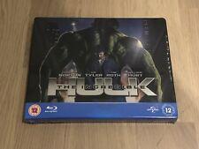 Incredible Hulk Play.com Blu-ray Steelbook Rare OOP - New Play.com