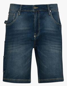 Bermuda jeans pantaloncini pantalone corto da lavoro DIADORA Stone blu classico