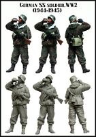 WAFFEN SS 1/35 RESIN MODEL KIT FIGURE (1 TOP QUALITY MOLDED FIGURE)