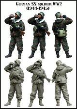 Waffen SS 1/35 Kit Modellino in resina figura (1 TOP QUALITY Modellato Figura)