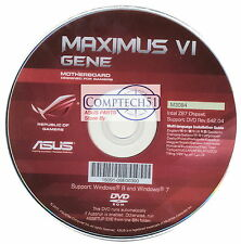 ASUS GENUINE MOTHERBOARD SUPPORT DISK Maximus VI Gene REV642.04 M3084