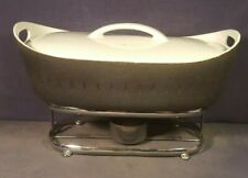 Ernest Sohn Creations - Covered Casserole Chafing Dish w/ rack stand NR