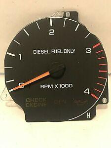 94-97 Dodge Ram Pickup Tachometer Gauge 1500 2500 3500 Cummins 94 95 96 97 Tach