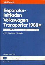 VW Bus T3 - Reparaturleitfaden - Diesel Motor Mechanik