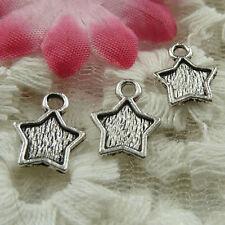 Free Ship 58 pieces tibetan silver star charms 32x26mm L-4842