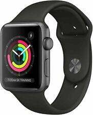 Apple Watch 3 (GPS, 42mm) Space Gray Aluminium Case Sport Band (MTF32LL/A)