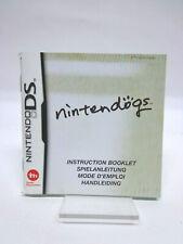 Anleitung - Nintendo DS - Nintendogs (deutsch)