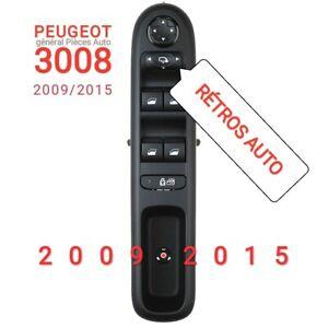 Interrupteur de commande lève vitre pour PEUGEOT 3008 / RETROS AUTOMATIQUES