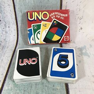 Vintage Uno Card Game, Complete With 108 Cards