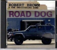 (BA860) Robert Brown & The Smouldering Sons, Road - CD
