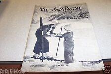 VIE A LA CAMPAGNE N° 414 1937 vacances d'hiver neige