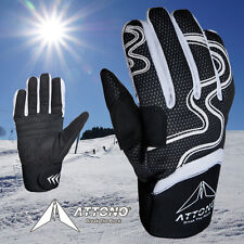 Skihandschuhe ATTONO Ski Handschuhe Winter Fahrradhandschuhe Herren Damen Kinder
