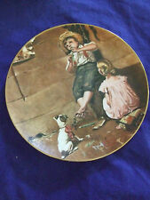 """Vintage 1980 Norman Rockwell""""Music Master """" Collectable Plate Looks Great"""