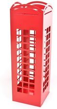 RED London Phone Box Umbrella Holder Traditonal English also for Canes/ Sticks