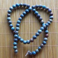 1 Strand 8mm Blue Crazy Lace Agate Pearl Garden Loose Bead 15.5 inch QZHANG08