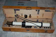 """Vintage Carl Zeiss  """"Astro 28"""" 60-mm Travelling Telescope"""