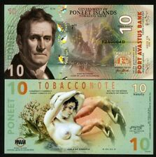 Poneet Islands, 10 Kasutu, Tobacco Note, 2020 POLYMER > Girls of Essence, Type 2