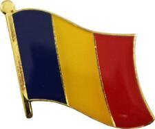 Romania Country Flag Bike Motorcycle Hat Cap lapel Pin