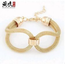 Unbranded Leather Alloy Chain/Link Costume Bracelets