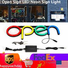Open Sign Led Neon Sign Light Business Light Bar Club Wall Art Light Decor Pvc