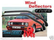 VW GOLF II  / JETTA 2D  09/1987 - 09/1991  Wind deflectors 2.pc  HEKO  31109
