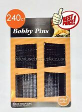 240 pcs Bobby Pins Clip For Hair Bob color Black