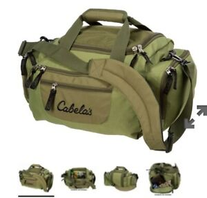 CABELA'S CATCH-ALL GEAR BAG-New with Tag-Green Color