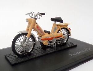 Norev 1/18 Scale 182048 - Peugeot 103 L Motorcycle - Beige