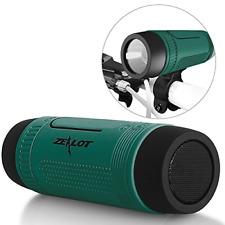 Bluetooth Bicycle Speaker Zealot 4000mAh Portable Bike Speakers Rechargeable