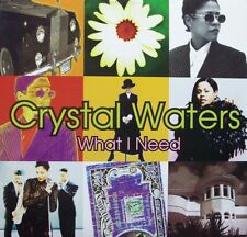 "Vinile Originale 12""/33 giri remix (1994) -  Crystal Waters – What I Need"