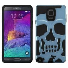 Fundas y carcasas metálicas de color principal negro para teléfonos móviles y PDAs Samsung