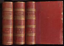 M. DELACROIX, DICTIONNAIRE HISTORIQUE DES CULTES RELIGIEUX - 3 VOLUMES