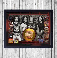 BARON ROJO AVENTURAS CUADRO CON GOLD O PLATINUM CD EDICION LIMITADA. FRAMED