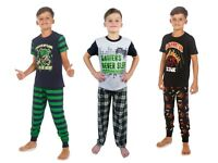 Boys Pyjamas Gamer Gaming Pyjamas Three Great Designs 7-13 Years Long and Short