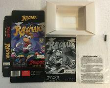 RAYMAN Atari Jaguar EMPTY Display Box Bag Manual White Insert ONLY NO CARTRIDGE
