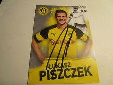 Lukasz Piszczek Borussia Dortmund BVB Autogrammkarte 2018/2019 2018/19 18/19.