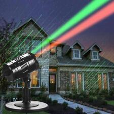 LED Laser Projektor Lampe Strahler Weihnachtsbeleuchtung Meteorschauer Effket ❌